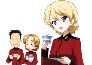 Rating: Safe Score: 9 Tags: darjeeling girls_und_panzer megane orange_pekoe tagme uniform User: drop