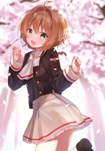 Rating: Safe Score: 64 Tags: card_captor_sakura jimmy kinomoto_sakura seifuku User: edogawaconan