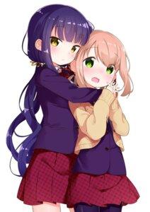 Rating: Safe Score: 46 Tags: muku_(muku-coffee) nyoroko_no_namahousou! pantyhose seifuku sweater User: saemonnokami