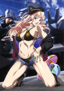 Rating: Questionable Score: 43 Tags: bikini cleavage macross macross_frontier open_shirt sakai_kazuo sheryl_nome swimsuits undressing User: Aurelia