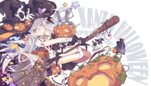Rating: Safe Score: 43 Tags: amatsukaze_(kancolle) cleavage halloween kantai_collection litsvn rensouhou-kun stockings tattoo thighhighs witch User: nphuongsun93