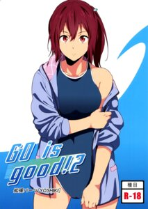 Rating: Questionable Score: 21 Tags: endou_yoshiki free! matsuoka_gou swimsuits User: Schezza