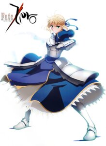 Rating: Safe Score: 21 Tags: armor fate/stay_night fate/zero fixed ishizuka_miyuki saber User: fireattack