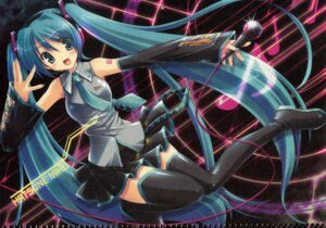 Rating: Safe Score: 16 Tags: hatsune_miku ikegami_akane thighhighs vocaloid User: admin2