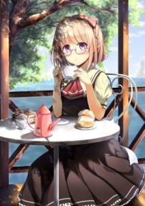Rating: Safe Score: 55 Tags: dress kinakomochi_(egoist) megane User: Mr_GT