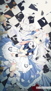 Rating: Safe Score: 41 Tags: alice alice_in_wonderland animal_ears dress mullpull tail User: Mr_GT