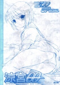 Rating: Safe Score: 4 Tags: monochrome nagato_yuki pantsu seifuku suzumiya_haruhi_no_yuuutsu tim_tim_machine User: fluke