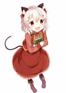 Rating: Safe Score: 44 Tags: animal_ears muku-coffee nekomimi tail User: tbchyu001