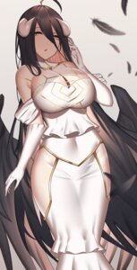 Rating: Safe Score: 22 Tags: albedo_(overlord) aogi_(pixiv9459043) artist_revision cleavage horns overlord wings User: Mr_GT