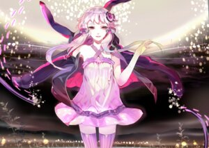 Rating: Safe Score: 43 Tags: 119 dress thighhighs vocaloid yuzuki_yukari User: Radioactive