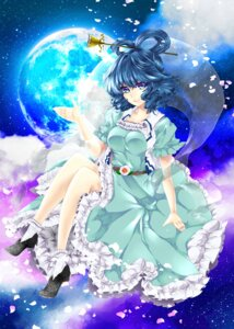 Rating: Safe Score: 9 Tags: dress kaku_seiga nanami_(artist) touhou User: itsu-chan