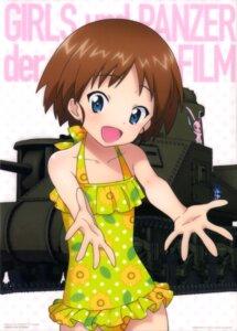Rating: Safe Score: 18 Tags: girls_und_panzer sakaguchi_karina swimsuits User: drop