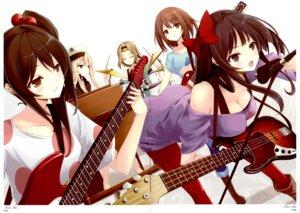 Rating: Safe Score: 49 Tags: akiyama_mio cleavage fixme gap guitar hirasawa_yui k-on! kotobuki_tsumugi mikoto_akemi nakano_azusa pantyhose tainaka_ritsu yellow_avantgard User: Share