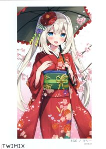 Rating: Questionable Score: 21 Tags: fate/grand_order kimono marie_antoinette_(fate/grand_order) sumisaki_yuzuna User: kiyoe