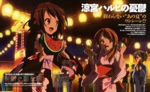 Rating: Safe Score: 13 Tags: asahina_mikuru nagato_yuki suzumiya_haruhi suzumiya_haruhi_no_yuuutsu ueno_chiyoko yukata User: 月无名