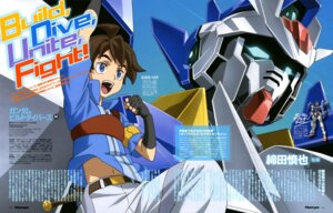 Rating: Questionable Score: 6 Tags: gundam gundam_build_divers kusumegi_shinya male mikami_riku toida_shuri User: drop