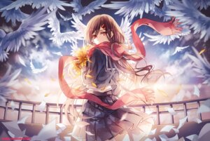 Rating: Safe Score: 31 Tags: instockee. kagerou_project mekakucity_actors seifuku tateyama_ayano User: zero|fade
