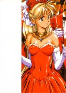 Rating: Questionable Score: 16 Tags: dress erect_nipples lady_innocent urushihara_satoshi User: GP
