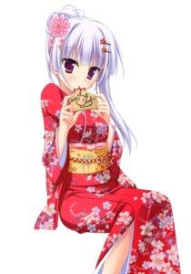 Rating: Safe Score: 70 Tags: hatsuyuki_sakura hontani_kanae kimono saga_planets tamaki_sakura User: crim