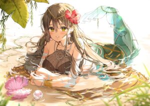 Rating: Safe Score: 46 Tags: cleavage mermaid monster_girl see_through tagme wet User: charunetra