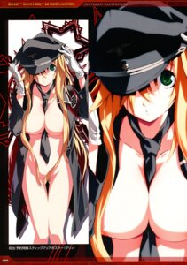 Rating: Questionable Score: 59 Tags: bottomless breasts dies_irae g_yuusuke light marie_(dies_irae) nipple_slip nipples no_bra open_shirt User: Hatsukoi