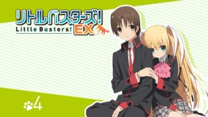 Rating: Questionable Score: 24 Tags: little_busters! naoe_riki seifuku tokido_saya User: SHM222