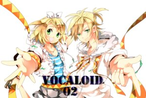 Rating: Safe Score: 6 Tags: hanei kagamine_len kagamine_rin vocaloid User: Radioactive