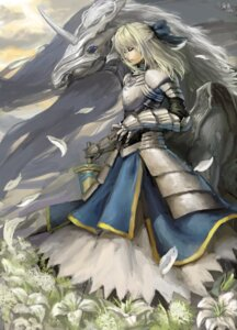 Rating: Safe Score: 32 Tags: 1045335316 armor fate/stay_night saber User: Radioactive