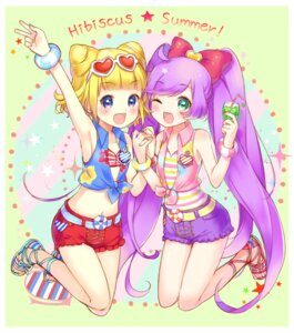 Rating: Safe Score: 13 Tags: hyerry manaka_lala minami_mirei pripara User: blooregardo