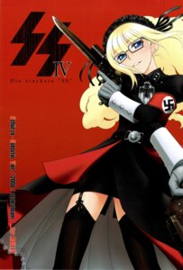 Rating: Questionable Score: 5 Tags: garter gun megane ootsuka_mahiro otaku_beam stockings thighhighs uniform User: Radioactive