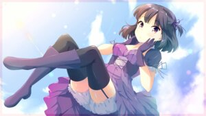 Rating: Safe Score: 53 Tags: bloomers cleavage dress heels mimura_zaja stockings thighhighs wallpaper User: nphuongsun93