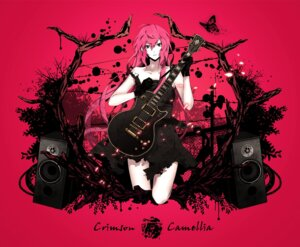 Rating: Safe Score: 29 Tags: arisaka_ako dress guitar megurine_luka vocaloid User: Radioactive