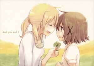 Rating: Safe Score: 33 Tags: black_river hidamari_sketch miyako yuno yuri User: NotRadioactiveHonest