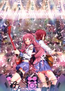 Rating: Safe Score: 21 Tags: angel_beats! guitar iwasawa nagareboshi seifuku yui_(angel_beats!) User: animeprincess
