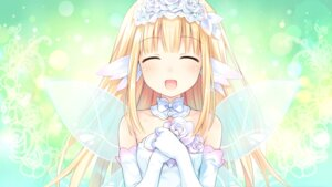 Rating: Safe Score: 32 Tags: bouquet_(choujigen_game_neptune) choujigen_game_neptune game_cg tsunako wings User: Nepcoheart