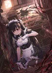 Rating: Safe Score: 47 Tags: girls_frontline lunacle maid ouroboros_(girls_frontline) thighhighs torn_clothes User: Mr_GT