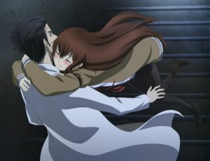 Rating: Safe Score: 44 Tags: makise_kurisu okabe_rintarou pantyhose steins;gate User: drop