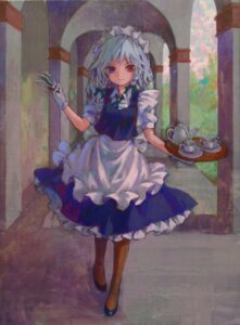 Rating: Safe Score: 8 Tags: ama-tou heterochromia izayoi_sakuya touhou User: Radioactive