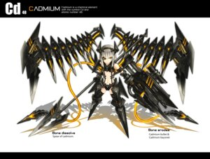 Rating: Safe Score: 32 Tags: gia mecha_musume User: SciFi