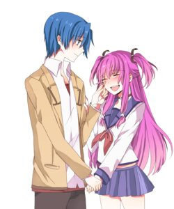 Rating: Safe Score: 10 Tags: angel_beats! awa_(pixiv710207) hinata_(angel_beats!) yui_(angel_beats!) User: Radioactive