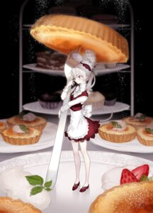 Rating: Safe Score: 21 Tags: animal_ears maid ozyako0 tail User: charunetra
