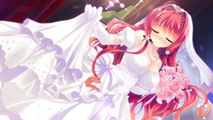 Rating: Safe Score: 85 Tags: akemiya_sakura cabbit cleavage dress game_cg love_love_life pajamas_soft rubi-sama skirt_lift skyfish wedding_dress User: Mr_GT
