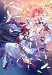Rating: Safe Score: 22 Tags: ark_order dress eclosion kimono sword tagme thighhighs weapon User: BattlequeenYume