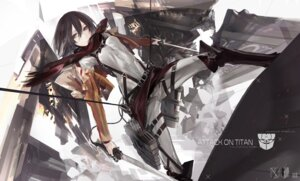 Rating: Safe Score: 34 Tags: kiwamu mikasa_ackerman shingeki_no_kyojin sword User: 绫城幻雪