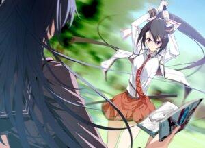 Rating: Safe Score: 31 Tags: kasuga_ayumu_(artist) seifuku sword User: krioce