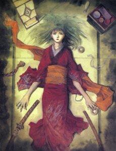 Rating: Safe Score: 3 Tags: asano_rin blade_of_the_immortal kimono samura_hiroaki User: Radioactive
