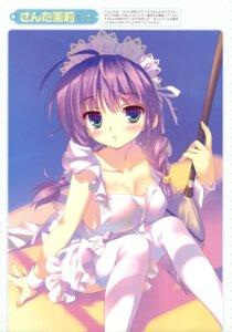 Rating: Questionable Score: 71 Tags: akatsuki_no_goei naked_apron santa_matsuri thighhighs tsuki User: YamatoBomber