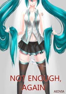 Rating: Explicit Score: 29 Tags: aiovia cleavage hatsune_miku no_bra open_shirt pantsu panty_pull pussy_juice signed tattoo thighhighs vocaloid User: charunetra