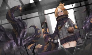 Rating: Safe Score: 21 Tags: abigail_williams_(fate/grand_order) bandaid dw fate/grand_order tentacles User: RyuZU