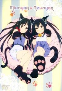 Rating: Safe Score: 70 Tags: akiyama_mio animal_ears k-on! nakano_azusa nekomimi sagawa_haruka tail User: PPV10